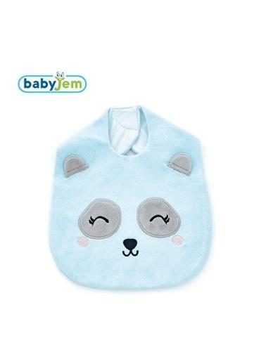 Baby Jem Mama Önlüğü Mavi